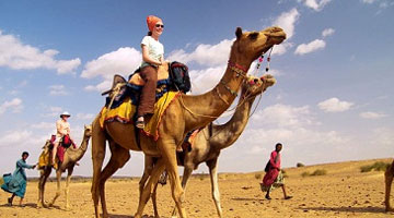Golden Triangle Dunes Tour Package