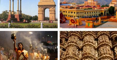 Delhi-Agra-Jaipur And Varanasi Tour Packages